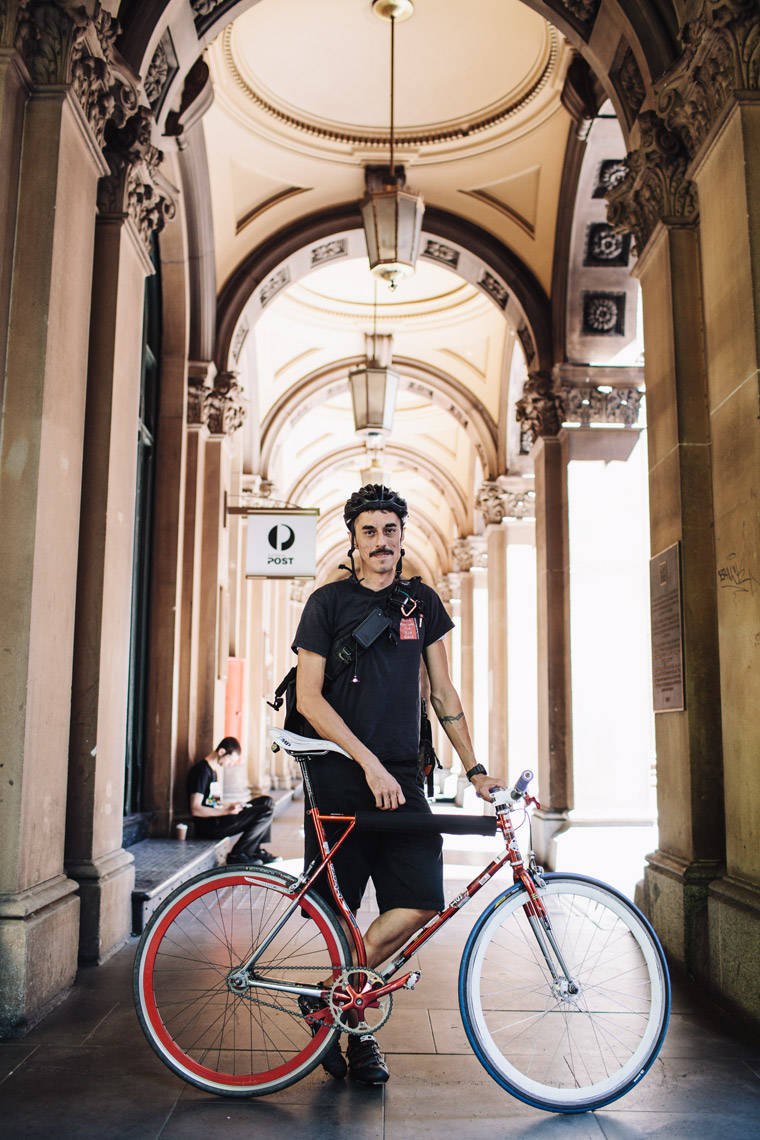 Martin Place Bike Couriers 4